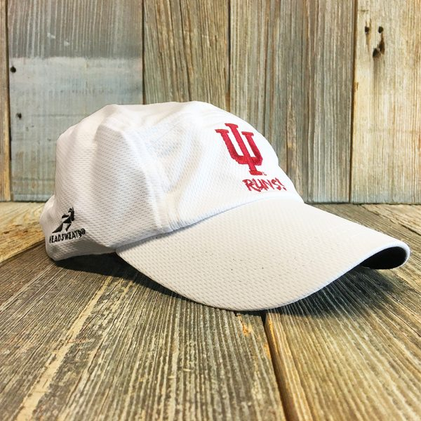 White IU hat